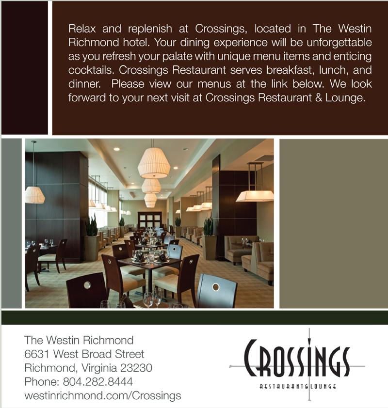 Crossing Restaurant AD