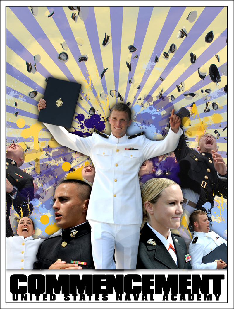 MIDN Life Commencement Poster
