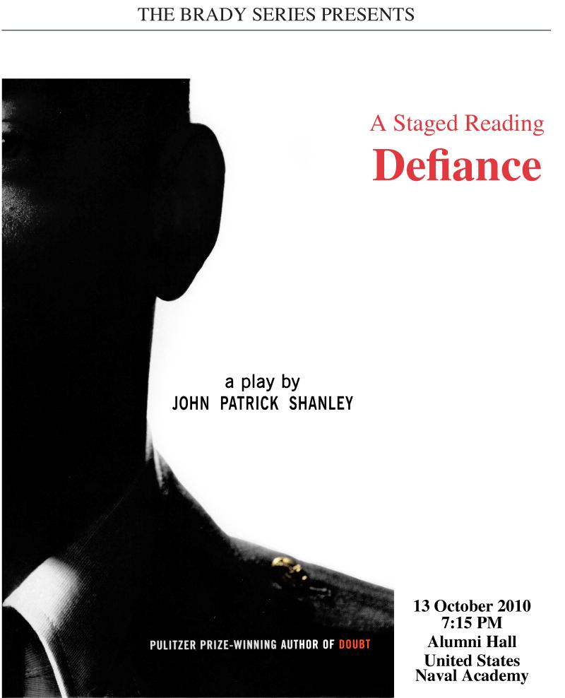 Brady Series Defiance Poster