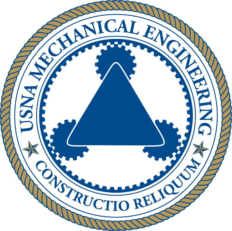 USNA Mechanical Engineering Department Logo