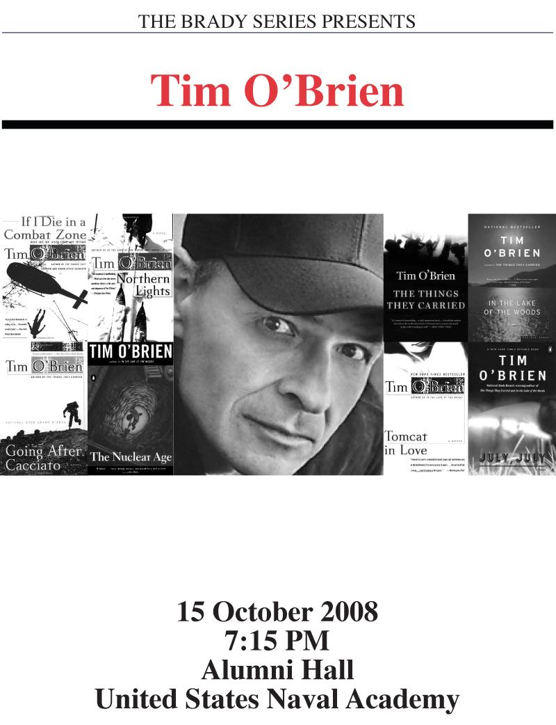 Brady Series Tim O'Brien Poster