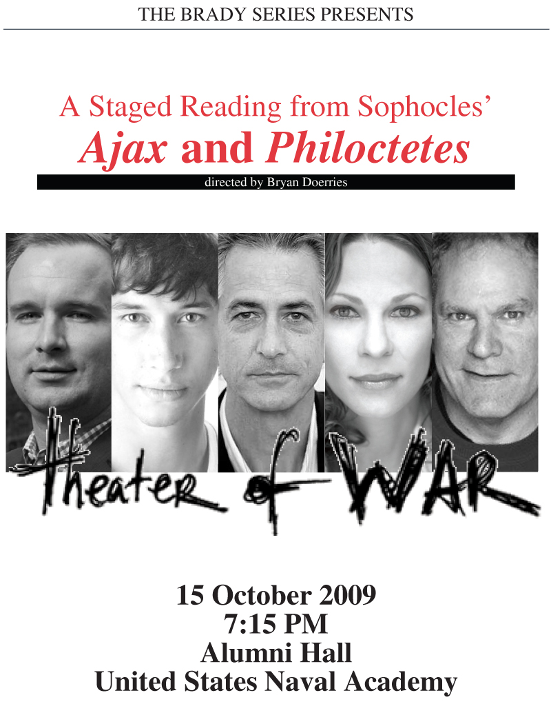 Brady Series Theater of War Poster